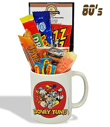 looney-tunes-mug-with-a-merrie-melody-selection-of-1980s-retro-sweets