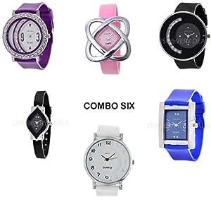 Horse Head Kitcone Combo Designer Braclet Jwellery Fashion stylish Womens ,girls & Ladies Wrist watches