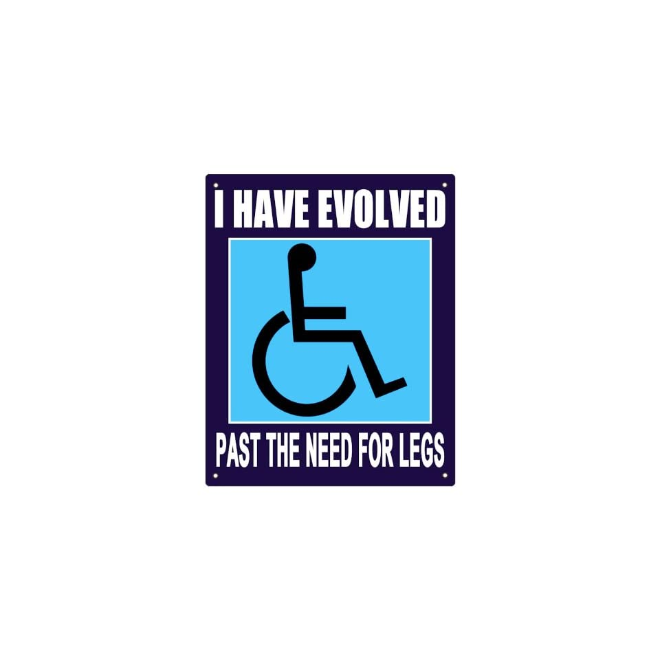 WHEELCHAIR INSPERATIONAL humor handicap sign plaque office / home wall decor
