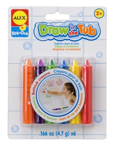ALEX Toys Rub a Dub Draw in the Tub Crayons - 1