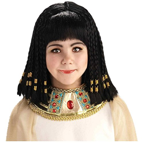 Cleopatra Princess Of Egypt Wig Child Costume Halloween
