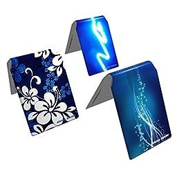 Stray Decor (Blue) 3x Bus / Train Ticket Wallets, Metro / Clipper / ORCA Card Holders COMBO
