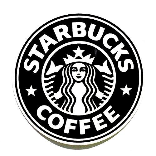 Starbucks Coffee Black Brand Logo Classic Original Decal Stickers