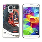 Hanxiangjun Samsung Galaxy S5 Case ChrlsBradshow Boots Snowboard 32 Lashed ChrlsBradshow Pro Model 2013 BKarv Snowpark Galaxy S5 Case