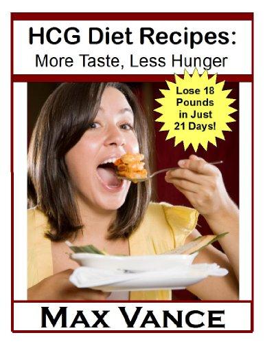 HCG Diet Recipes: More Taste, Less Hunger