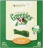 Greenies 10071443 Tub-Pak Treat for Dogs, 27-Ounce, Petite