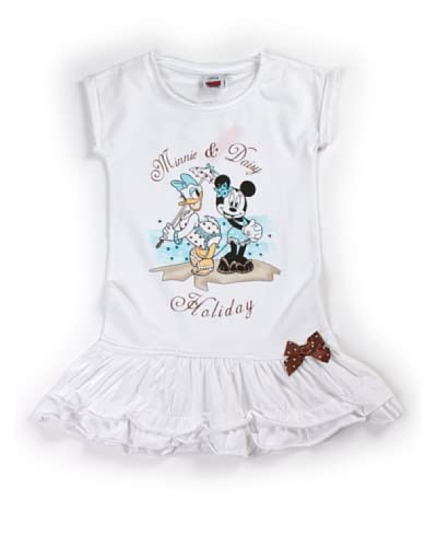Disney Kid Vestitino Kid Jhd1032502 [Bianco]