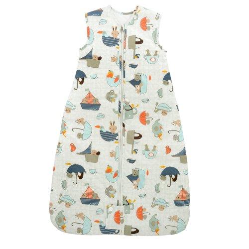 New Pink Hearts Baby Girl Sleep Bag White 6-18 Months Infant Growbag Blanket