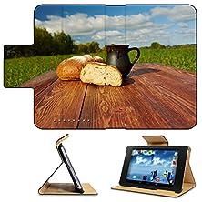 buy Asus Google Nexus 7 1St Generation 2012 Model Flip Case Homemade Bread And Mug Milk On A Wooden Table