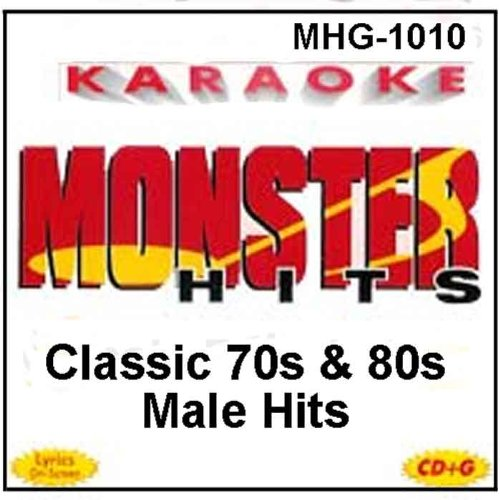 Monster Hits Karaoke #1010 - Classic 70s & 80s Male Hits (Karaoke Margaritaville compare prices)