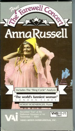 Anna Russell - The (First) Farewell Concert - 1