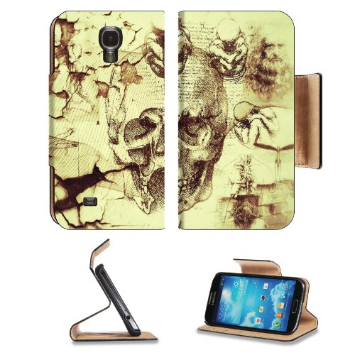 Davinci Artifacts Abstract Kreatiff Design Samsung Galaxy S4 Flip Cover Case With Card Holder Customized Made To Order Support Ready Premium Deluxe Pu Leather 5 Inch (140Mm) X 3 1/4 Inch (80Mm) X 9/16 Inch (14Mm) Luxlady S Iv S 4 Professional Cases Access front-1044227