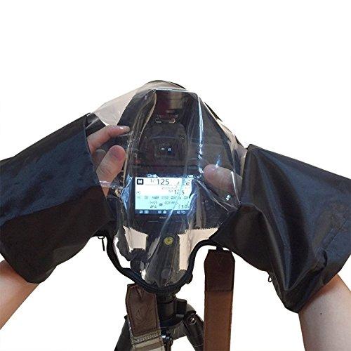 maveek Housse de pluie Protection imperméable pour appareil photo Taille moyenne à grande Appareils Photo Reflex