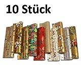 10 Rollen Weihnachtspapier Geschenkpapier, 10 St. a 2m x...