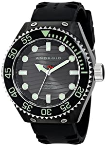 Android Men's AD576BKK Divemaster Espionage 2 Automatic Watch