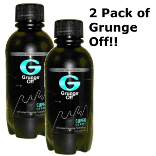 Grunge Off Ez Clean Pipe Cleaner 16 oz Glass, Metal, Pyrex (2 Pack) (Resin Tobacco Pipe compare prices)