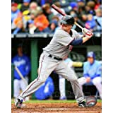 (8x10) Minnesota Twins - Justin Morneau 2011 Action Glossy Photograph at Amazon.com