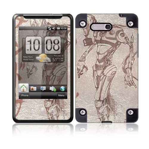 Toxic Birth Protective Skin Cover Decal Sticker for HTC HD Mini Cell Phone