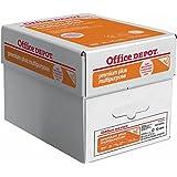 Office Depot Brand Premium Plus Multipurpose Paper, Copy Fax Laser & Inkjet Printer, 8 1/2 x 11 inch Letter Size, Heavier 22 lb., 98 Bright White, ColorLok, Acid Free, 5 Pack Case of 2000 Sheets (679333)