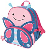 Skip Hop Zoo Backpack, Pink Butterfly, 3 Years Plus