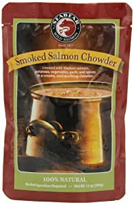 SeaBear Smoked Salmon Chowder, 12-Ounce Units   (Pack of 4)
