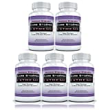 CARB STOPPER EXTREME (5 Bottles) - Maximum Strength Carbohydrate & Starch Blocker Weight Loss Supplement with White Kidney Bean Extractby Carb Stopper Extreme