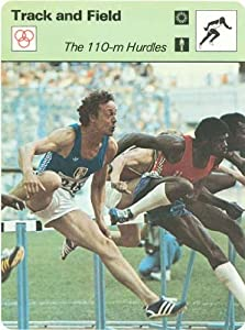 Buy 1977-79 Sportscaster Series #4221 Track and Field - 110M Hurdles Drut by Editions Recontre