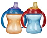 Munchkin Mighty Grip Trainer Cup 2-Pack, 8 Ounce - Blue/Orange