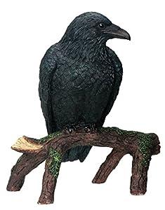 Raven - Collectible Figurine Statue Sculpture Figure Crow Bird Model