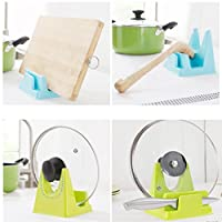 Creazy Spoon Rack Rest Pot Pan Lid Rack Stand Holder Kitchen Cooking Utensil Tool from CreazyDog®