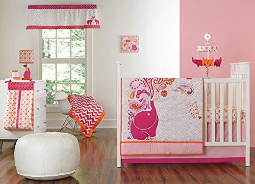 happy-chic-baby-jonathan-adler-party-elephant-4-piece-crib-bedding-set-pink-orange-white