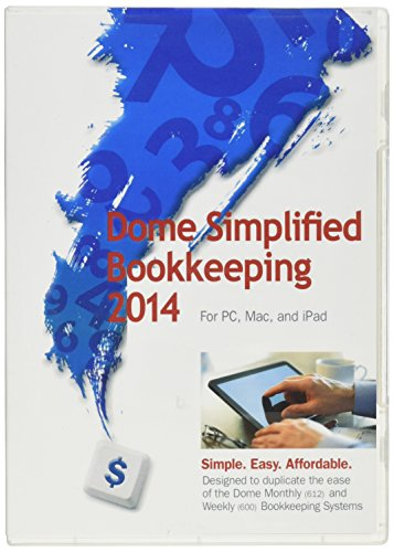 Dome Publishing Simplified Bookkeeping Software (DOM00114)