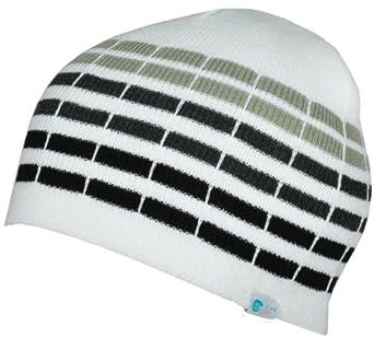 b601b356341 Alki i cube mens womens warm beanie snowboarding winter hats - White