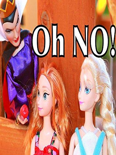 FROZEN Elsa Anna Park Snow White EVIL QUEEN POISON Apple Disney Princess Barbie Parody Toys