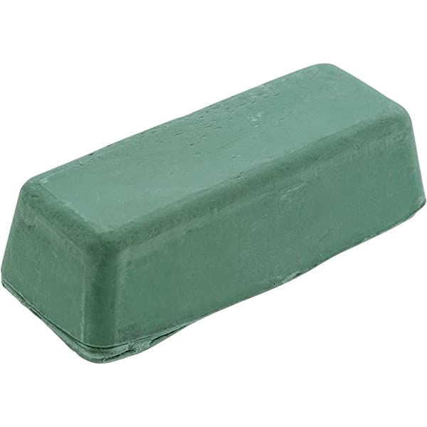 Woodstock D2902 1-Pound Extra Fine Buffing Compound, Green (Color: Green - Extra Fine, Tamaño: 16   Ounces)