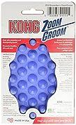 KONG ZoomGroom, Dog Grooming Brush, Boysenberry
