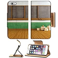 buy Msd Apple Iphone 6 Plus Iphone 6S Plus Flip Pu Leather Wallet Case Empty Vintage Classroom With Big Blackboard And Stacks Of Books Rendering Image 20308592