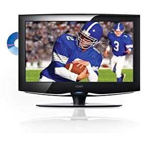 Coby TFDVD3295 32-Inch 720p Widescreen LCD HDTV/Monitor with DVD Player and HDMI Input (Black)