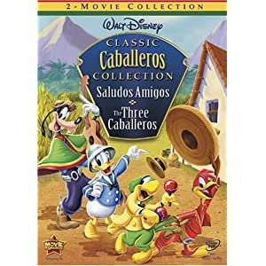 Amazon.com: Saludos Amigos / Three Caballeros: Three Caballero ...