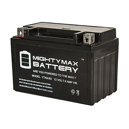 YTX9-BS Replacement Battery for Suzuki DR650SE 1998 - 2014 (650 Cca Car Battery compare prices)