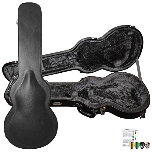 Chromacast Cc-Ps-Lpc-Kit-3 Pro Series Lp Body Style Electric Guitar Hard Case With Pick Sampler