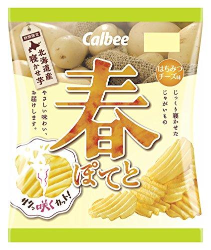 カルビー 春ぽてとはちみつチーズ味 65g×12袋