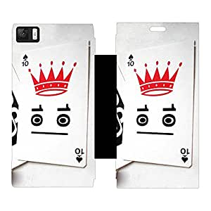 Phone Candy Designer Flip Cover with hi-res printed Vinyl sticker wrap-around for Xiaomi Mi3