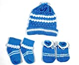 Moms Pet Baby Winter Cap Mitten Booty set