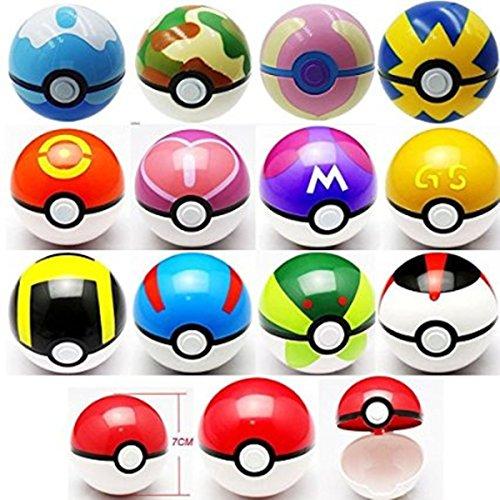 TaokaSupply 1PCS Pokémon Pokéball Pocket Monster Go Ultra Cosplay Poke BALL Toy