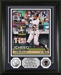 イチロー ニューヨーク・ヤンキース・デビュー記念(MLBフォト)