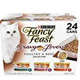 Purina Fancy Feast 50000580064 Gravy Lovers Gourmet Wet Cat Food - (24) 3 oz. Cans