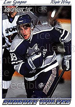Amazon.com: 1995 Slapshot 398 Luc Gagne Mint: Collectibles & Fine Art