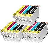 win-tinten 15 T0711-T0714 Kompatible Patronen als Ersatz für Epson SX110 SX115 SX200 SX205 SX210 SX218 SX215 DX4400 DX7400 DX7400 DX7450 DX8400 DX8450