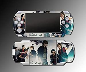 Big Time Rush BTR Any Kind of Guy Song Video Game Vinyl Decal Skin Protector Cover Kit for Sony PSP 1000 Playstation Portable